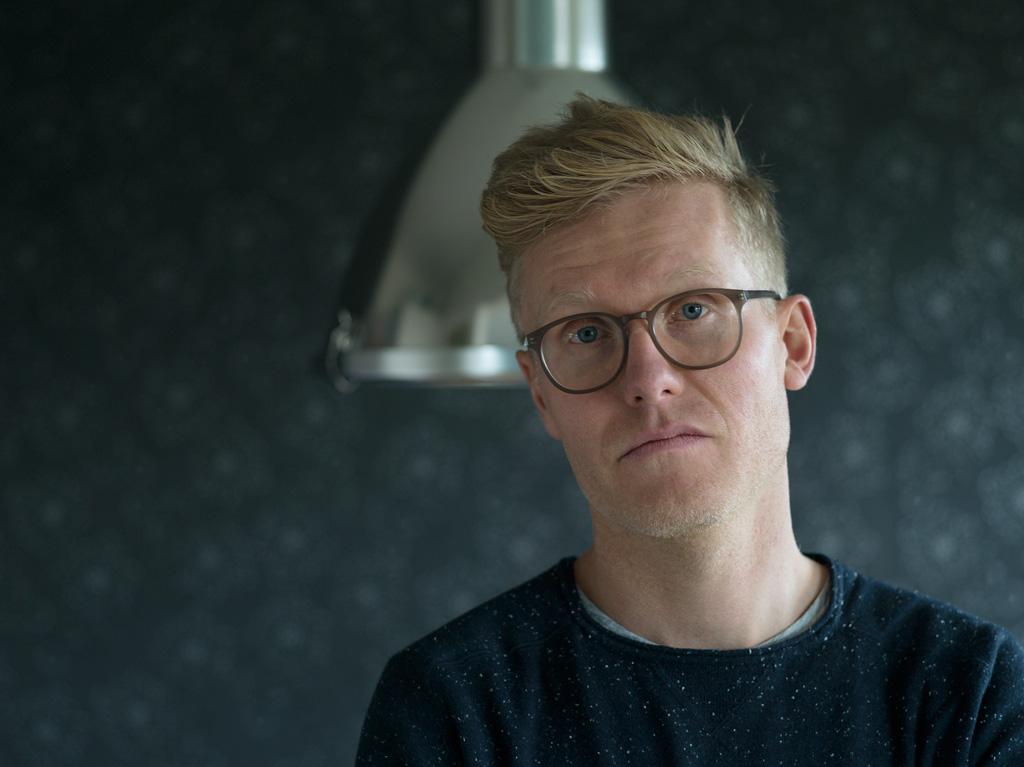 Jeroen van Kleef, portrait, close
