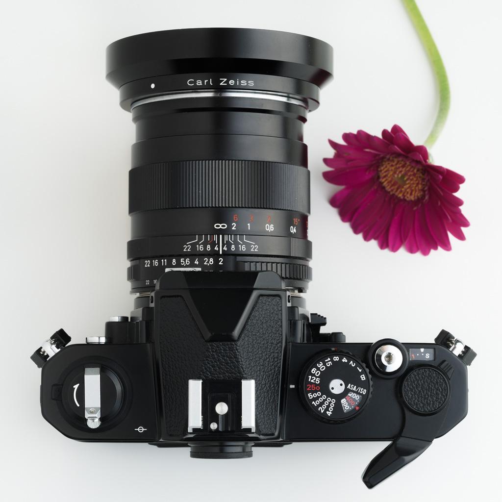 Nikon FM2N topview