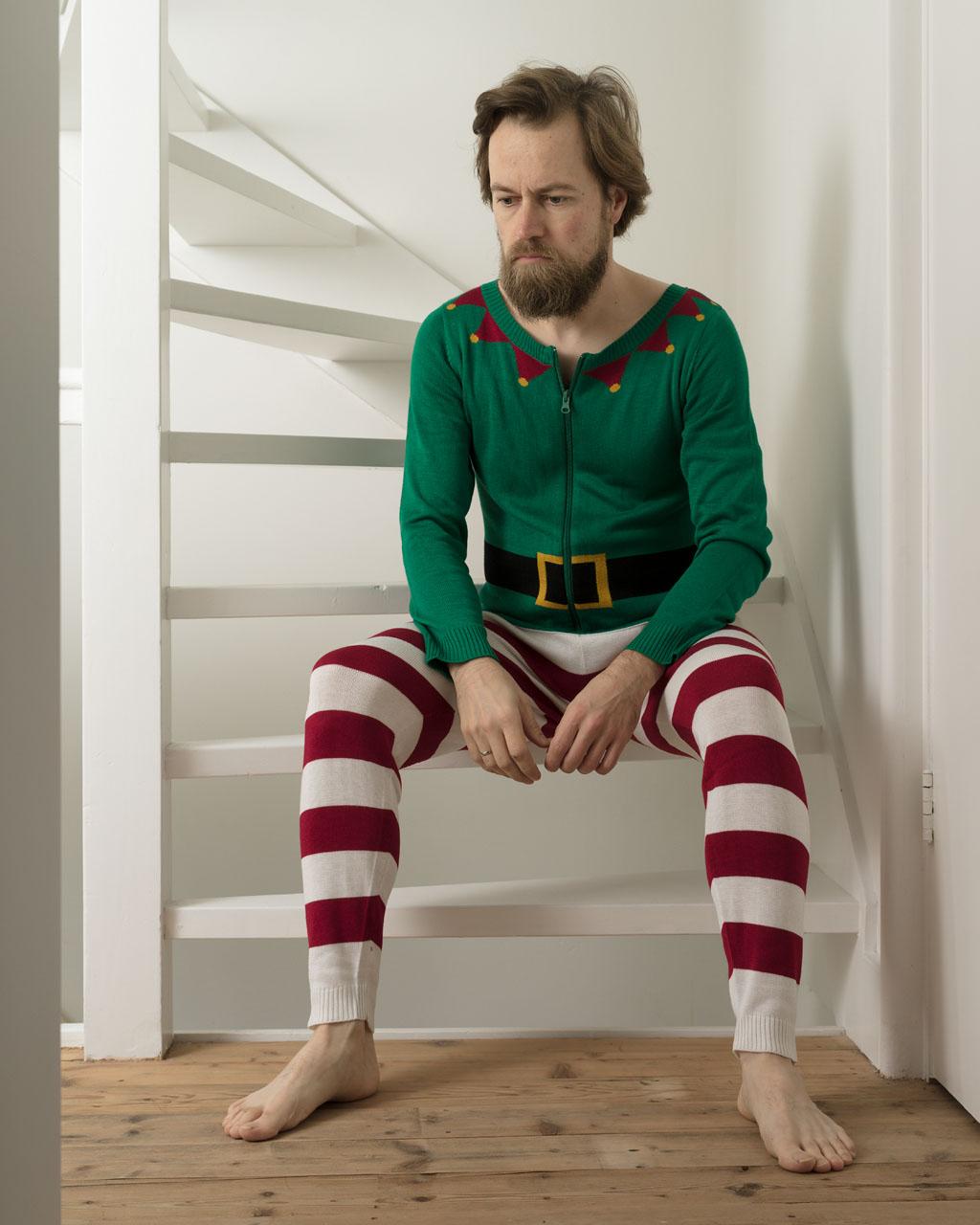 Christmassy self portrait