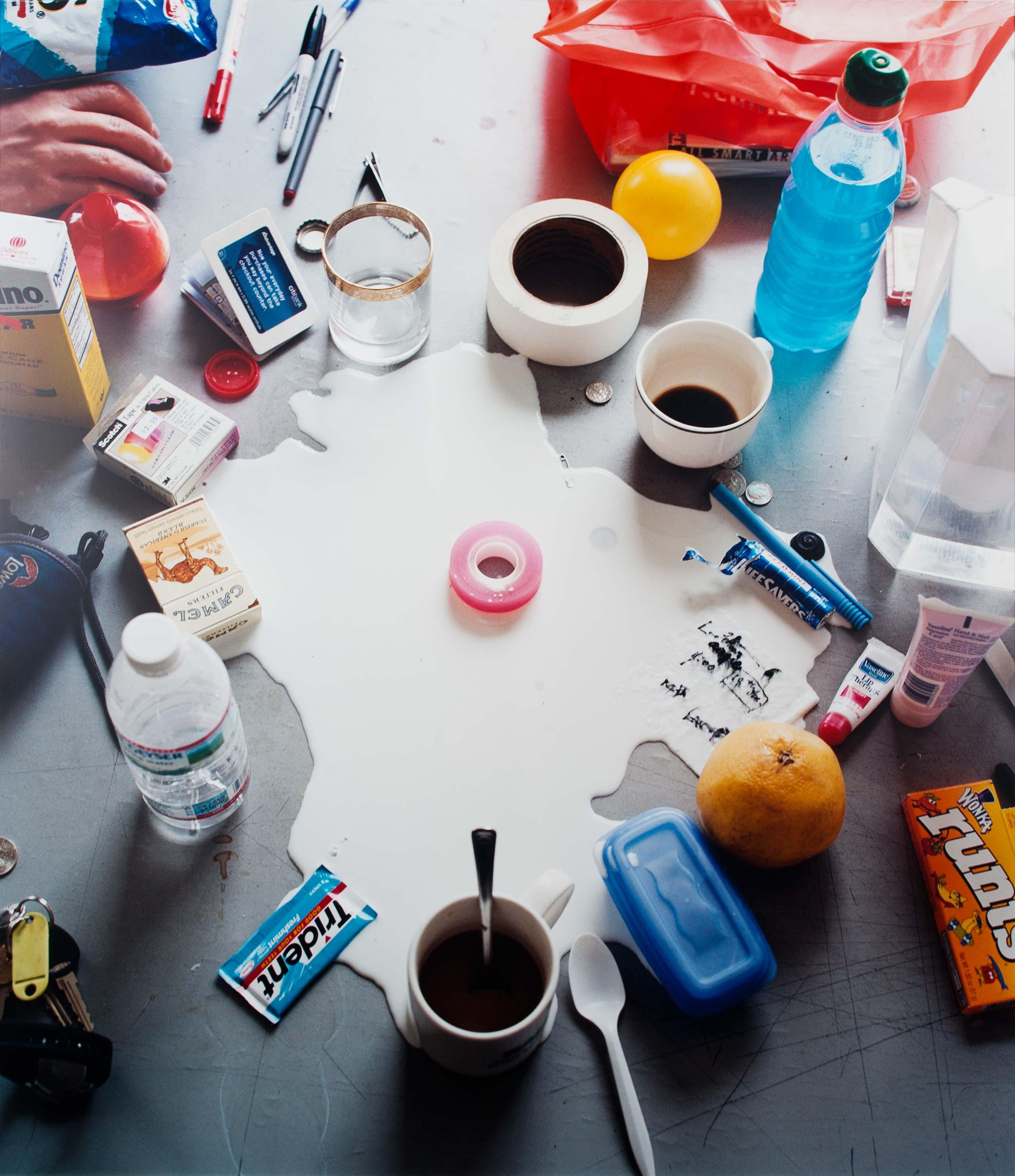 Still Life With Milk - photo Elspeth Diederix