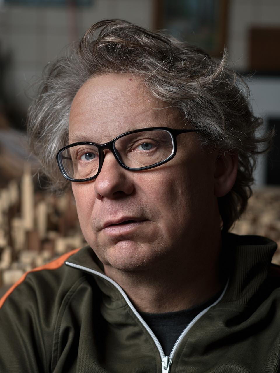 Portrait of Diederick Kraaijeveld