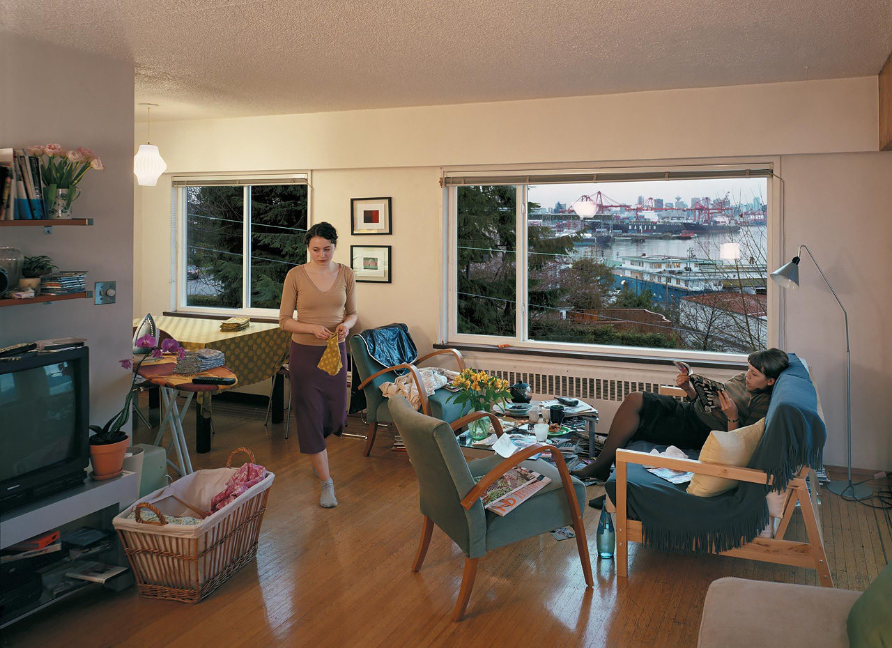 Jeff Wall - A view from an apartment - 2004